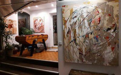 Galerie d'art Sylvie Adaoust de Signes en mars 2021