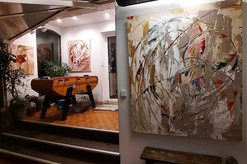 Le blog de l'artiste peintre Sylvie Adaoust