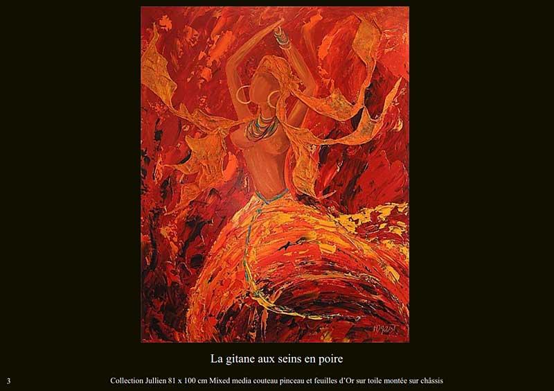 page 3 du livre sur la danse de Sylvie Adaoust