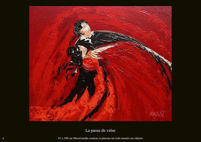 page 4 du livre sur la danse de Sylvie Adaoust