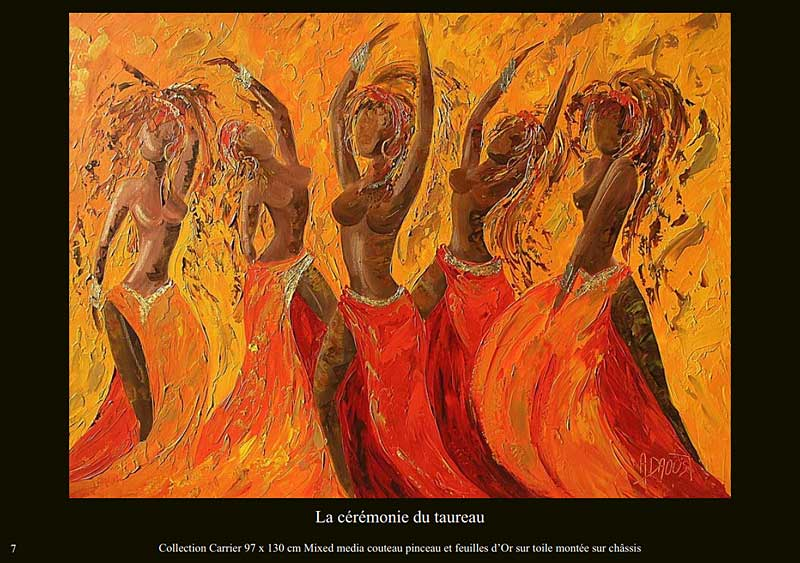 page 7 du livre sur la danse de Sylvie Adaoust