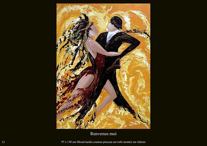page 13 du livre sur la danse de Sylvie Adaoust