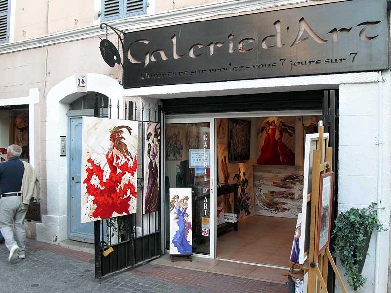 Galeried 'art Sylvie Adaoust en juin 2011 à Sanary-sur-mer - 1