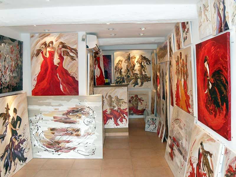 Galeried 'art Sylvie Adaoust en juin 2011 à Sanary-sur-mer - 2