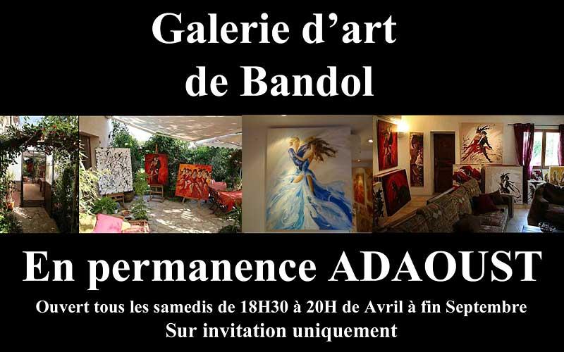 Galerie d'art Sylvie Adaoust du rond point du péage de Bandol 83150