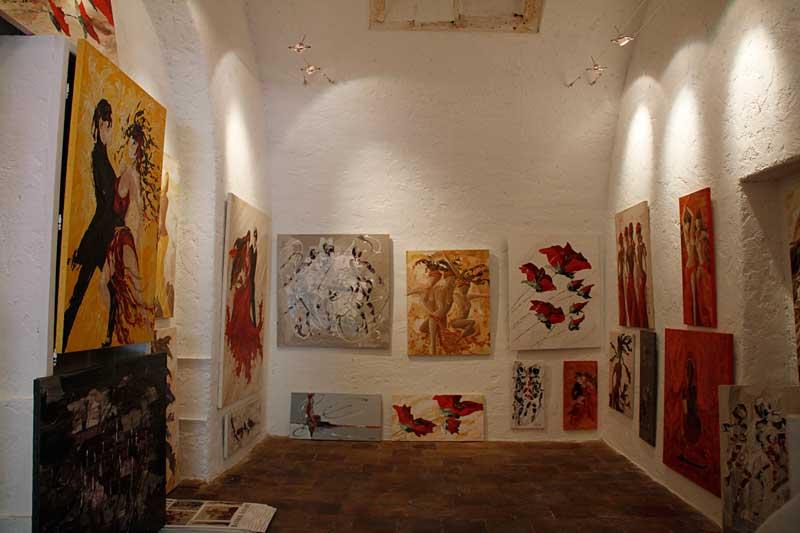 Galerie d'art Sylvie Adaoust de Bandol l'annexe
