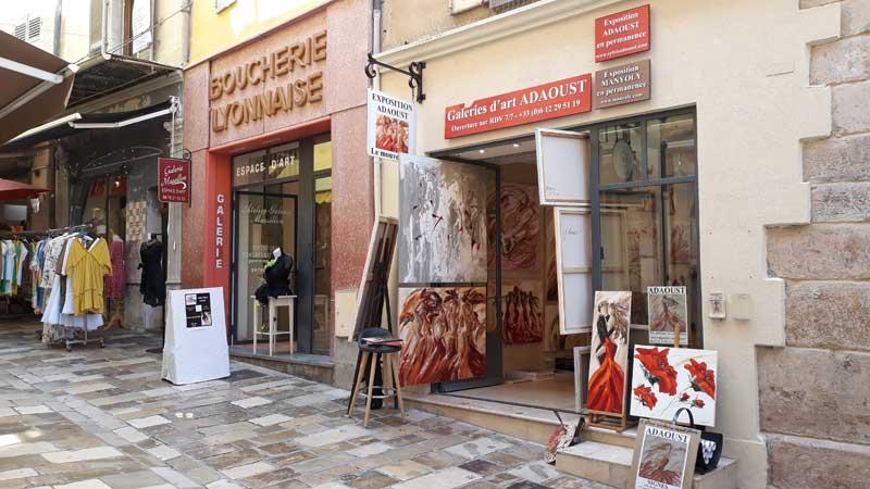 Galerie d'art Sylvie Adaoust de Hyères 83400