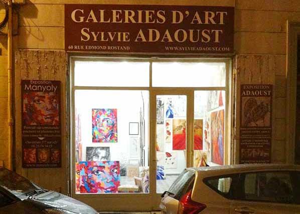 Galerie d'art Sylvie Adaoust de Marseille 13006