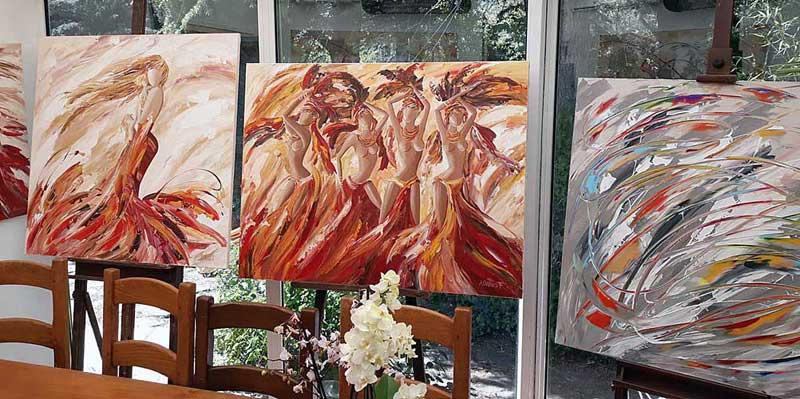 Galerie d'art Sylvie Adaoust de Signes 83870