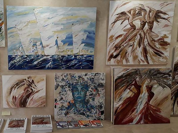 grand tableau marine de Sylvie Adaoust - 2