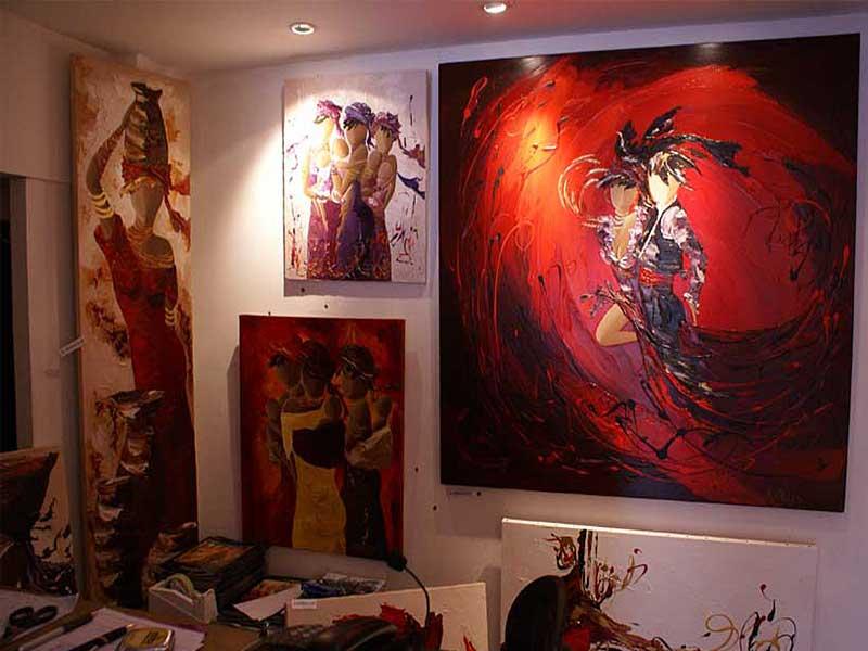 Exposition Sylvie Adaoust au mois de mai 2008 - 2