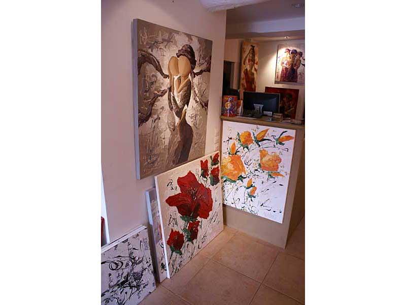 Exposition Sylvie Adaoust au mois de mai 2008 - 3