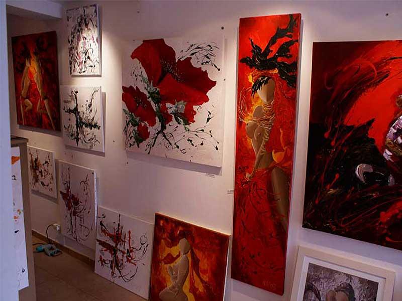 Exposition Sylvie Adaoust au mois de mai 2008 - 4