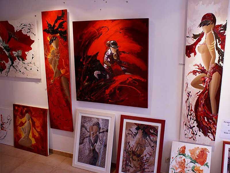 Exposition Sylvie Adaoust au mois de mai 2008 - 5