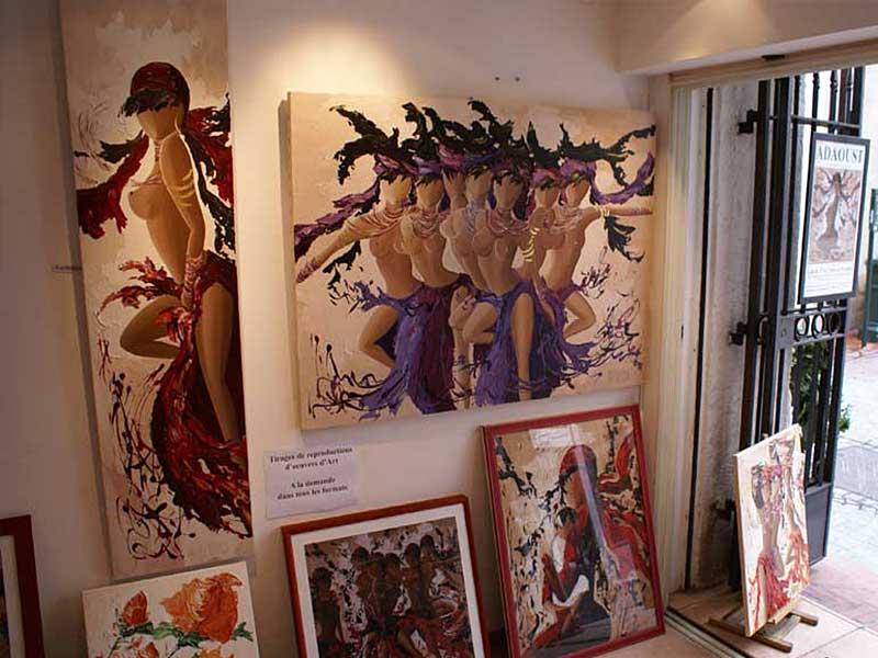 Exposition Sylvie Adaoust au mois de mai 2008 - 6