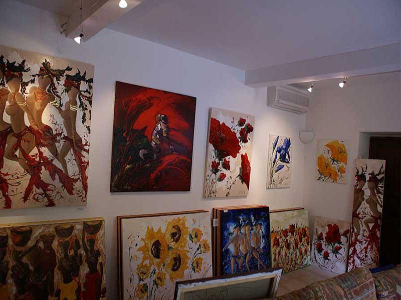Exposition Sylvie Adaoust au mois de mai 2008 - 7