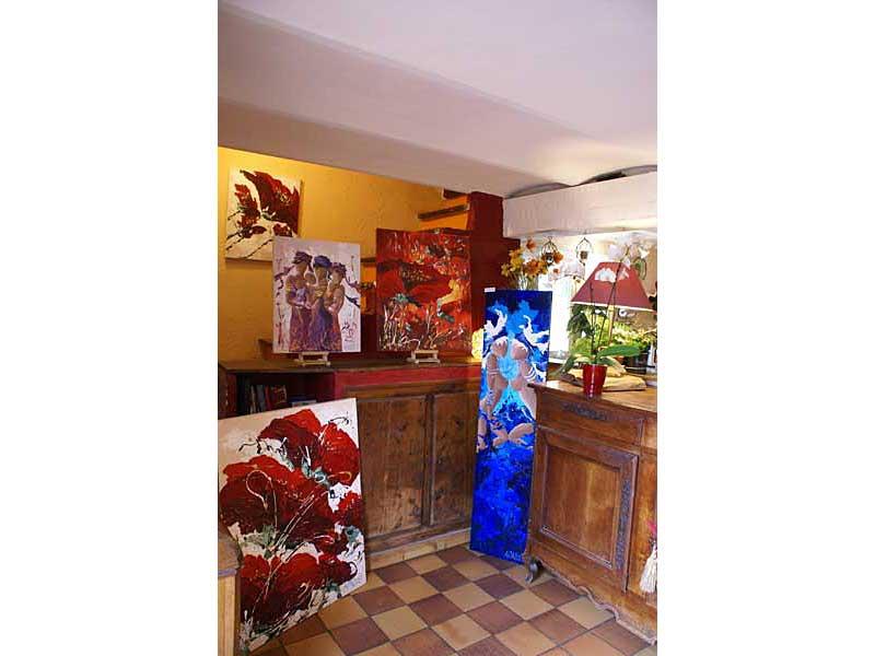 Exposition Sylvie Adaoust au mois de mai 2008 - 8