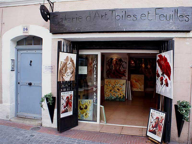 exposition Adaoust à Sanary-sur-mer en mai 2007 - 01