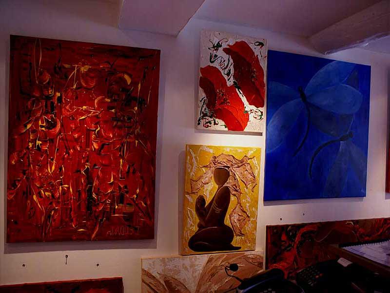 exposition Adaoust à Sanary-sur-mer en mai 2007 - 03