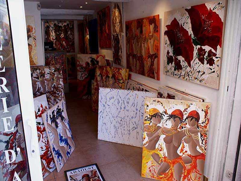 exposition Adaoust à Sanary-sur-mer en mai 2007 - 04