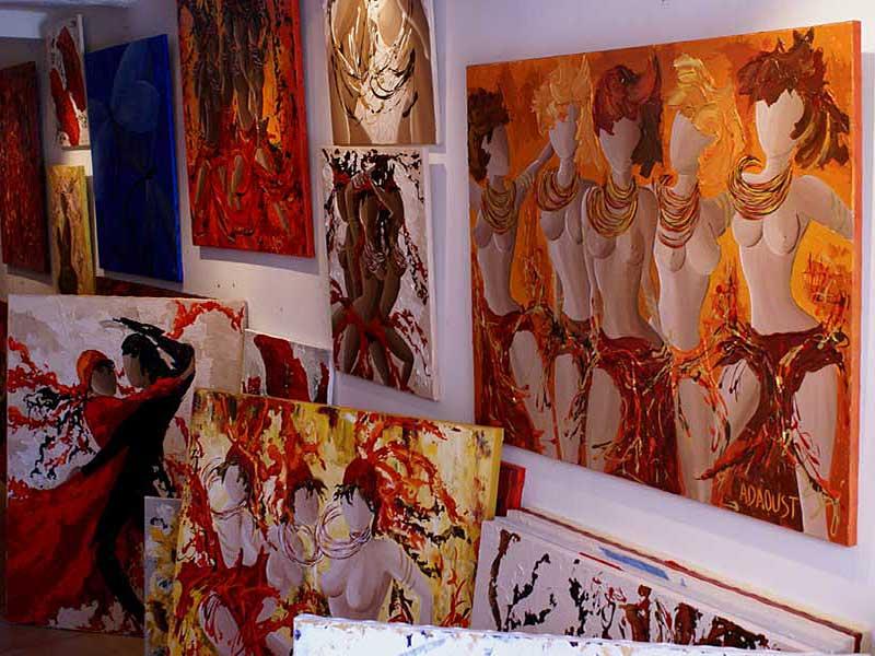 exposition Adaoust à Sanary-sur-mer en mai 2007 - 06